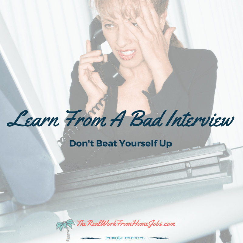 6 things to do after a bad job interview learn from a bad interview - Bad Interview Now What How To Learn From A Bad Job Interview