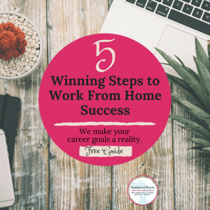 Work from home success steps