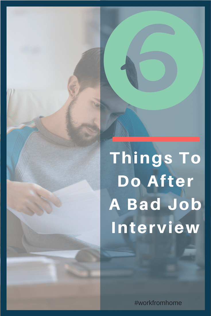 6 things to do after a bad job interview  u2013 pinterest 91417