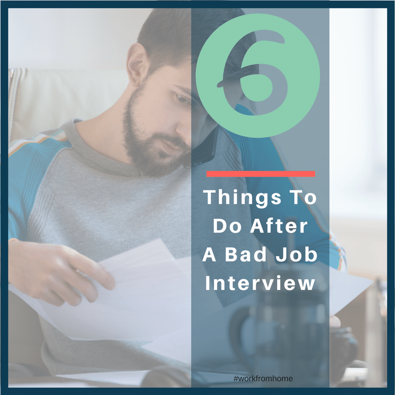 6 things to do after a bad job interview social media 91417 - Bad Interview Now What How To Learn From A Bad Job Interview