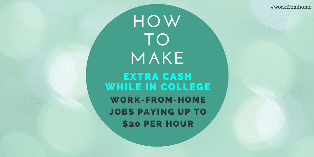 make money online for college students list of remote telecommute jobs for college students 6279