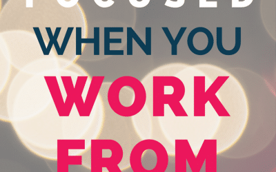 How-To Be More Productive Working from Home