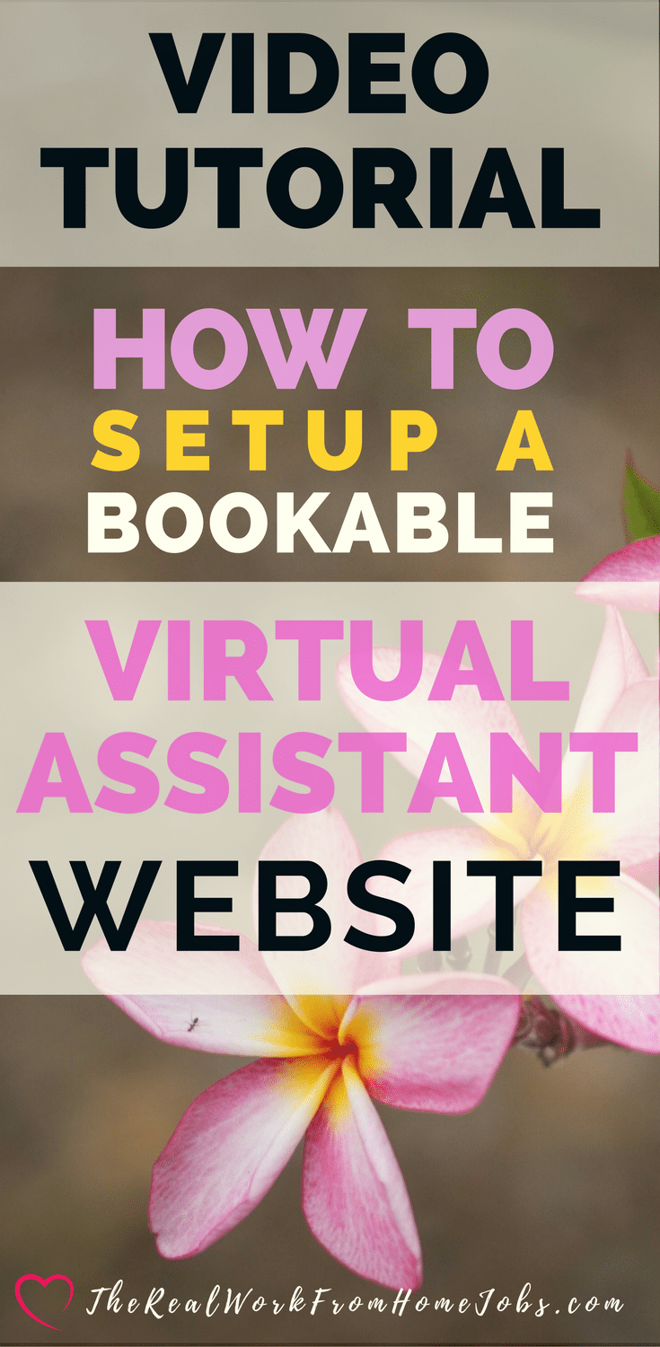 How-To Create Your Bookable Virtual Assistant Website