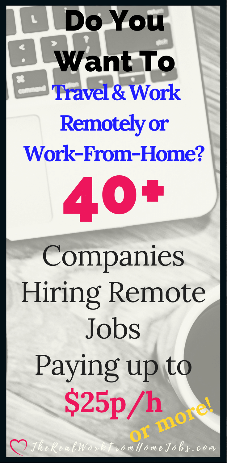 Real free work from home jobs