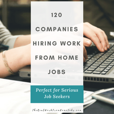 120 companies hiring work from home jobs social media #workfromhome #job