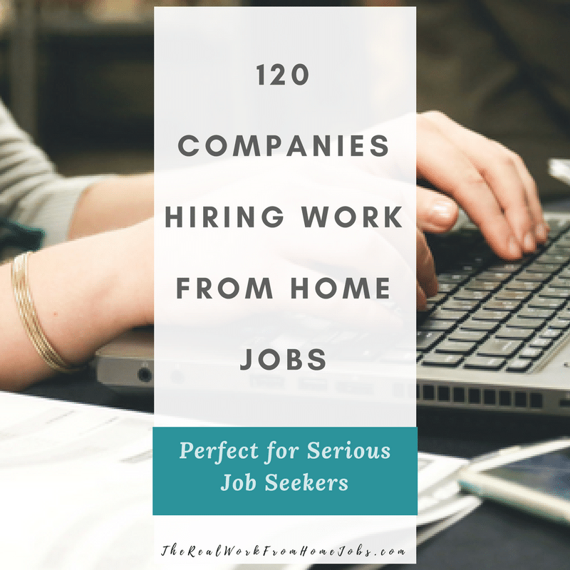 Real work from home careers