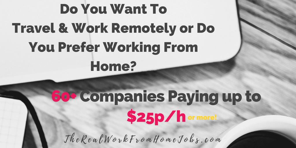 Work From Home Work From Home Careers