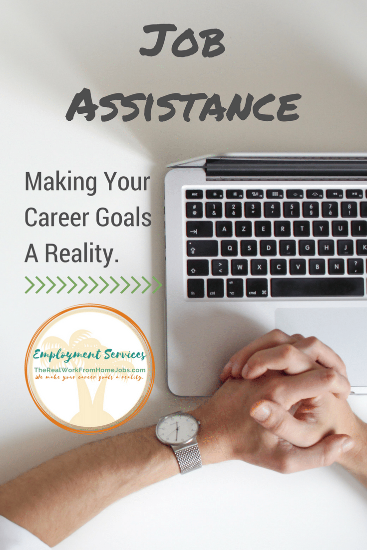 What Type of Employment Assistance Do You Need Help With? We make your career goals a reality. #career #goals #employment #jobsearch
