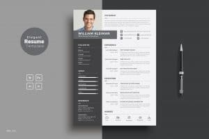 work from home resume template-1-