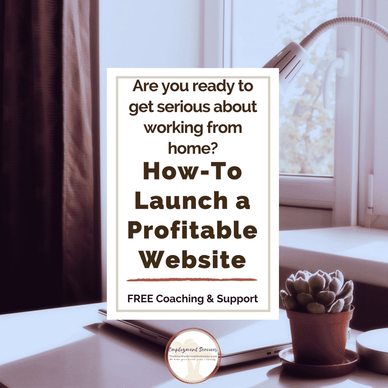 Website Set-Up and Launch – Work-from-Home Jobs