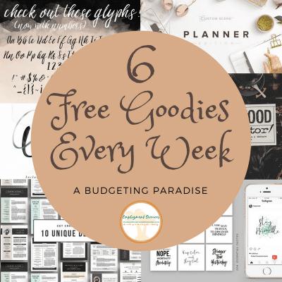 6 Free Goodies Every Week