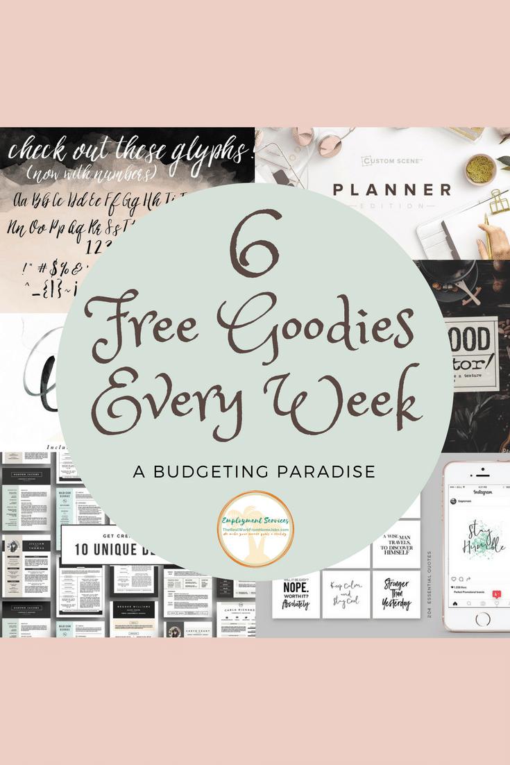 Free Goodies Every Week