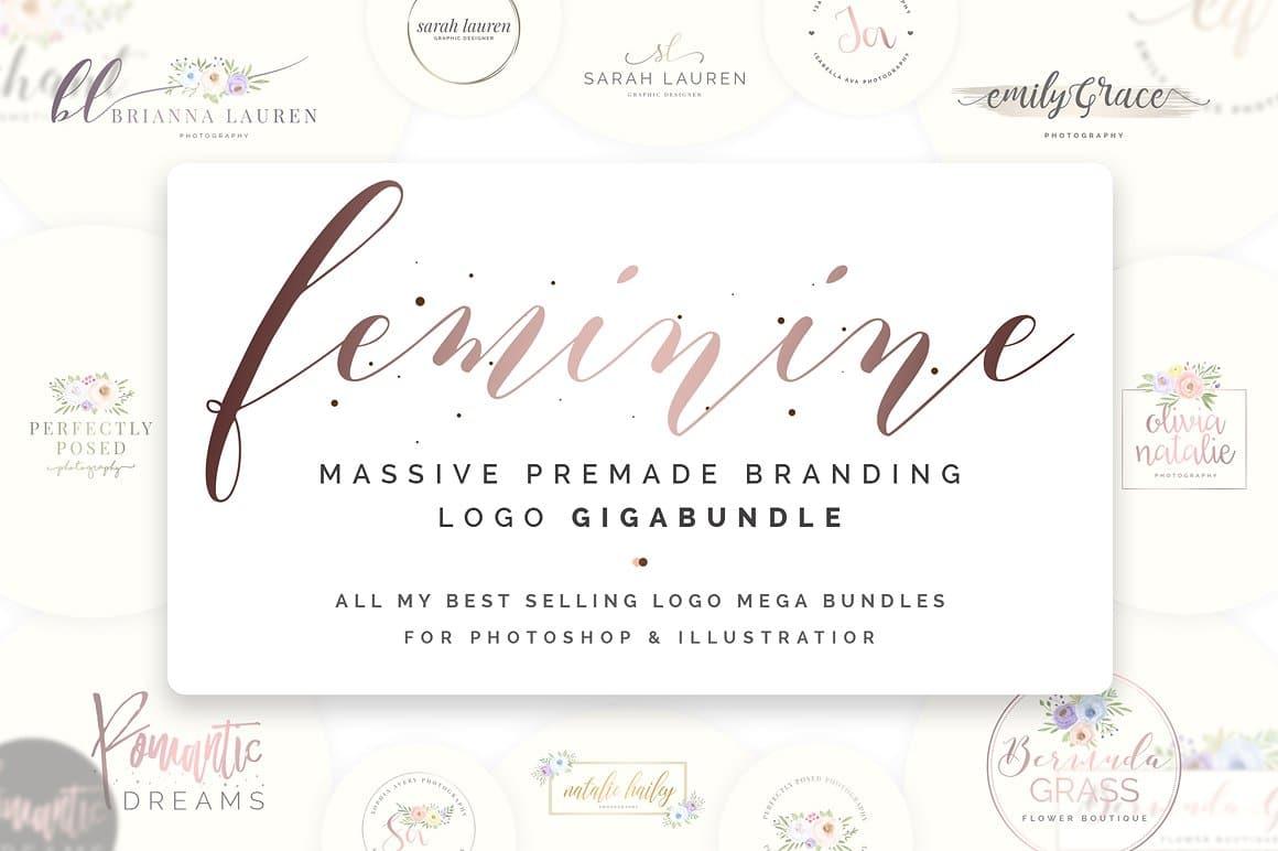 Feminine Logo Bundle