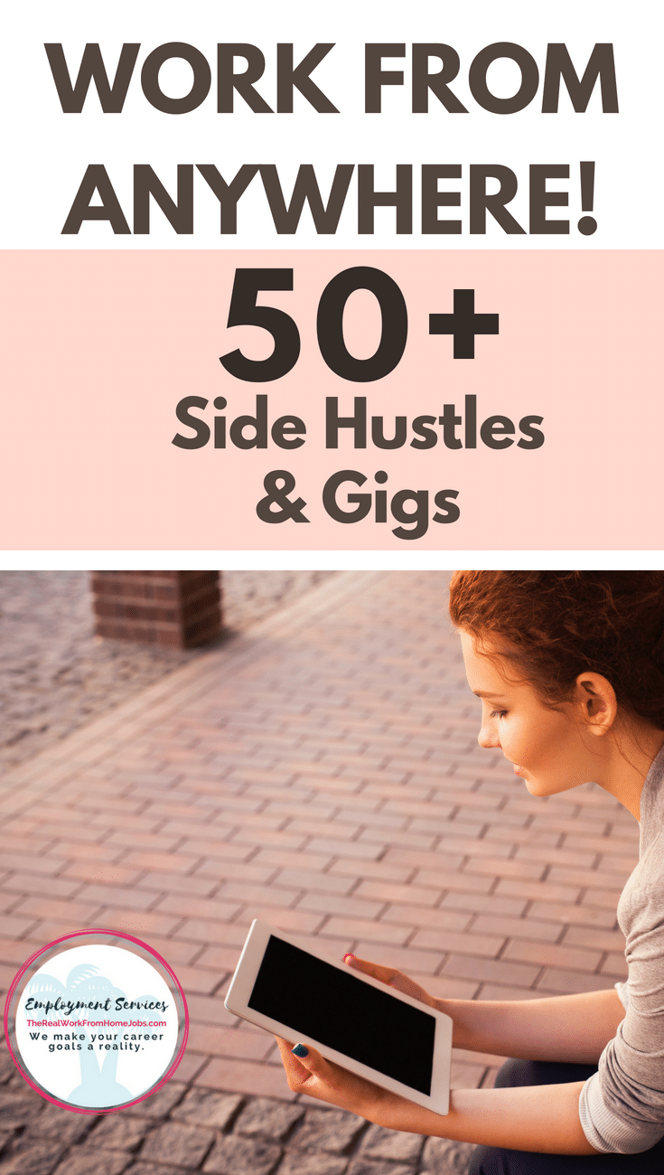 Side Hustles and Gigs