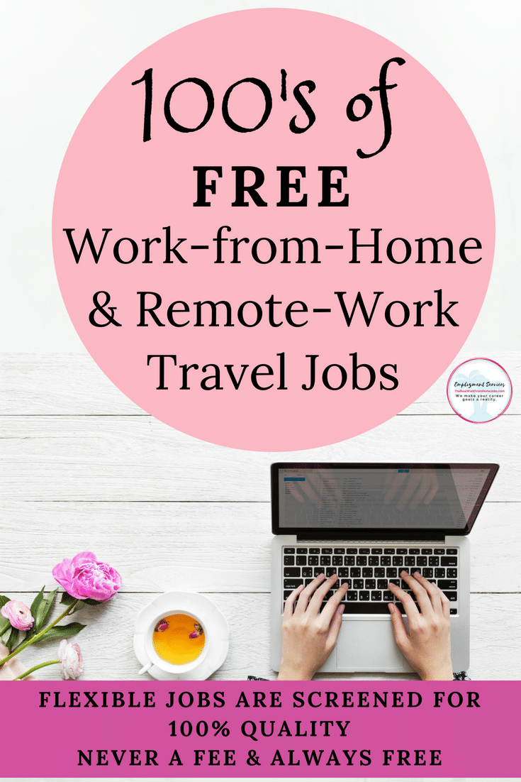 Work-at-Home and Remote Work Travel Jobs