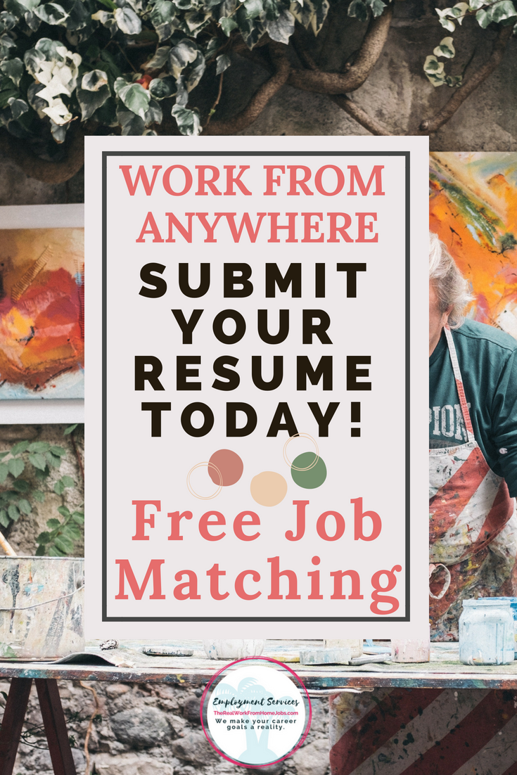 Do you want to work-from-home or travel more and work remotely? Submit Your Resume Here!