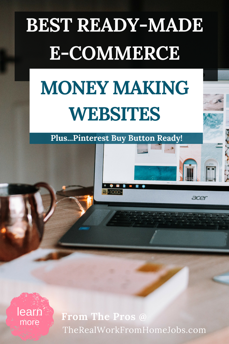 Start selling online today! No skills needed with these e-commerce ready websites including built-in buyable pins for use on Pinterest. Whether you need products to start your e-commerce business or you have a full line of products ready to sell, you can start selling online today! What are you waiting for?