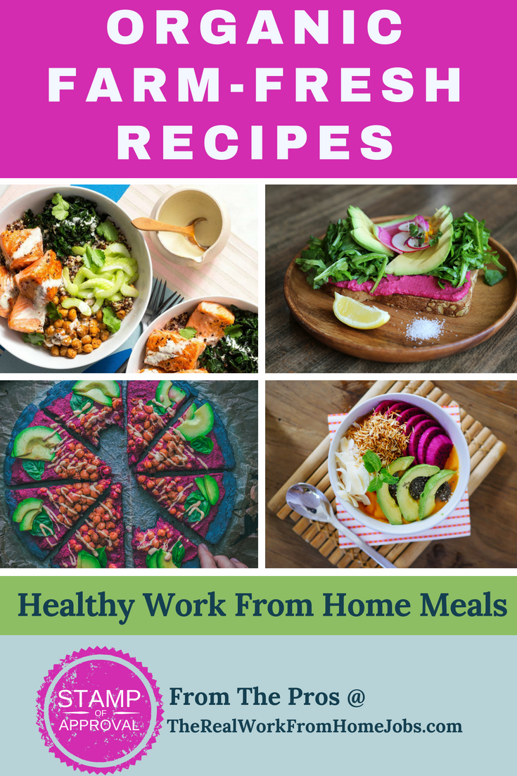 Do you work from home? Learn how to eat healthier at home.