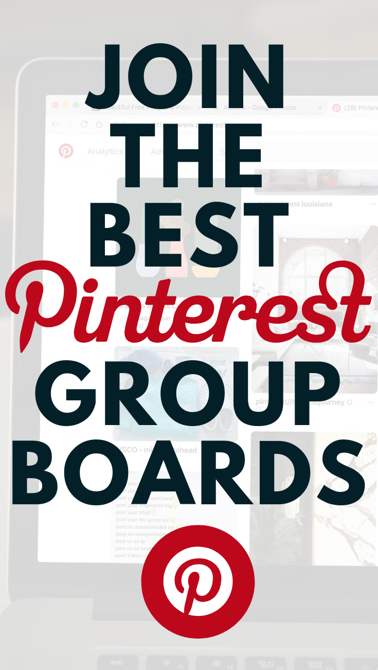Do you want to join our Pinterest Group Board? Follow these easy steps to join one or more of our Pinterest Group Boards.