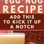 easy vegan eggnog recipe holiday alcohol beverage food recipe healthy eat holiday recipe planner printable DIY family meal easy recipes