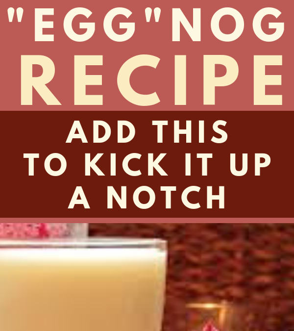"Easy Vegan ""Egg""nog"