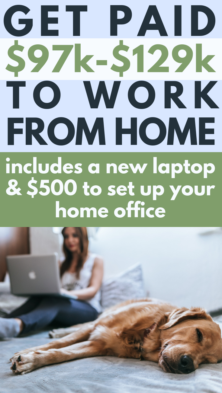 Hiring Project Manager $97k - $129k per year Get hooked up with a laptop to do your best work + $500 to set up your home office. Unlimited time off, family leave, health benefits, stock options and much more.